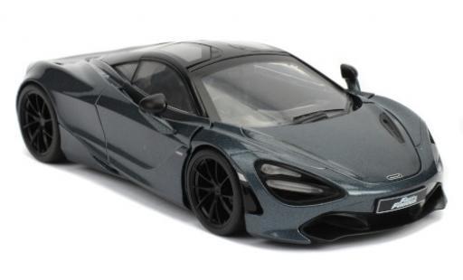 McLaren 720 1/24 Jada S metallise grey/black RHD Fast & Furious diecast model cars