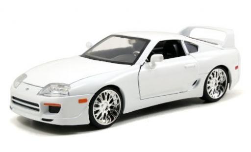 Toyota Supra 1/24 Jada Tuning bianco Fast & Furious modellino in miniatura