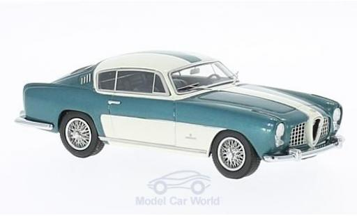 Alfa Romeo 2000 1/43 Kess Abarth Coupe Ghia métallisé verte/blanche 1954 miniature
