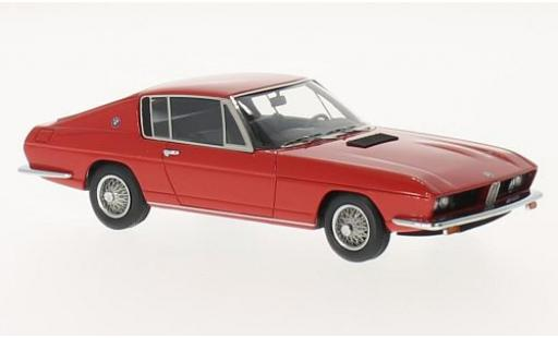 Bmw 2000 1/43 Kess TI Coupe Frua red 1968 diecast model cars