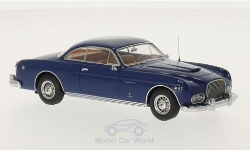 Chrysler New Yorker 1/43 Kess Ghia Coupe bleue 1954 miniature