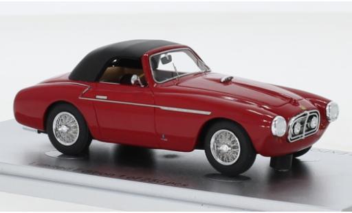 Ferrari 212 1/43 Kess Export Vignale Spider rouge RHD 1951 Verdeck fermé châssis No.0106E miniature