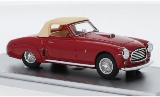 Ferrari 212 1/43 Kess Inter Ghia Cabriolet rouge RHD 1952 Verdeck fermé châssis No.0233eu miniature
