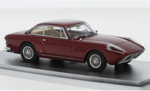 Ferrari 330 1/43 Kess GT 2+2 Shark Nose metallise rouge 1965 sn6537GT miniature