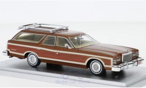 Ford LTD 1/43 Kess Country Squire metallise bronze/Holzoptik 1978 miniature