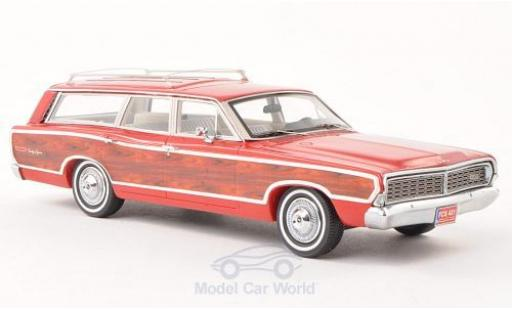Ford LTD 1/43 Kess Country Squire rouge/Holzeffekt 1968 ohne Vitrine miniature
