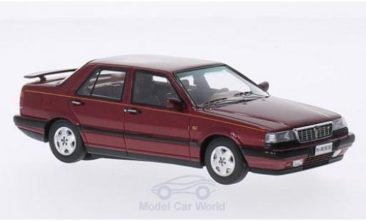 Lancia Thema 1/43 Kess 8.32 2S metallic red 1988 diecast
