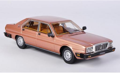 Maserati Quattroporte 1/43 Kess III 4.9 dkl.-gold 1983 sans Vitrine miniature