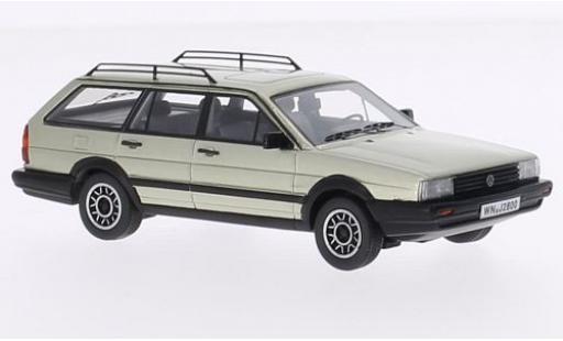Volkswagen Passat 1/43 Kess Variant GT Syncro metallise beige 1985 diecast model cars