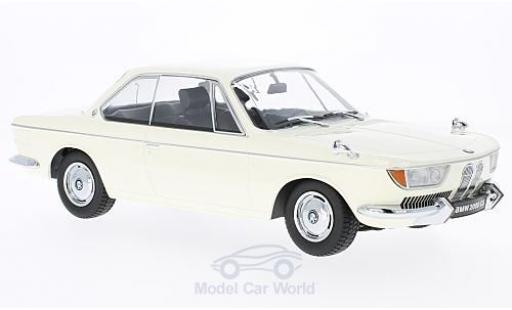 Bmw 2000 CS 1/18 KK Scale BMW CS beige 1965 miniature