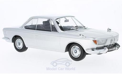 Bmw 2000 CS 1/18 KK Scale BMW CS grise 1965 miniature