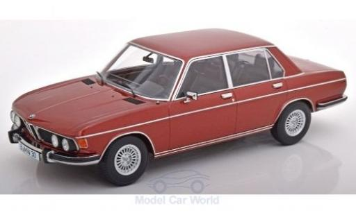 Bmw 3.0 1/18 KK Scale S (E3) metallise red 1971 diecast model cars