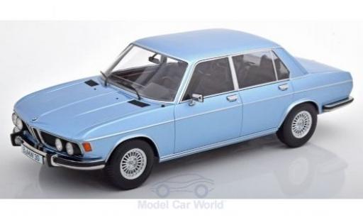 Bmw 3.0 1/18 KK Scale S (E3) métallisé bleue 1971 miniature