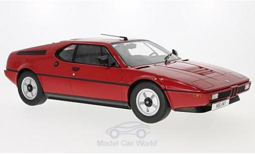 Bmw M1 1978 1/12 KK Scale BMW (E26) red 1978 diecast