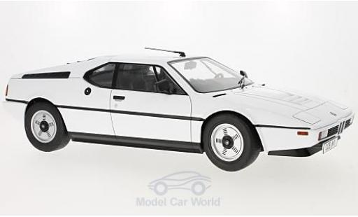 Bmw M1 1978 1/12 KK Scale BMW (E26) white 1978 diecast