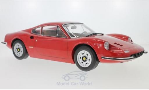 Ferrari 246 1/12 KK Scale GT Dino rouge 1973 miniature
