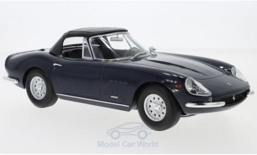Ferrari 275 1/18 KK Scale GTB/4 NART Spyder bleue 1967 Softtop liegt ein
