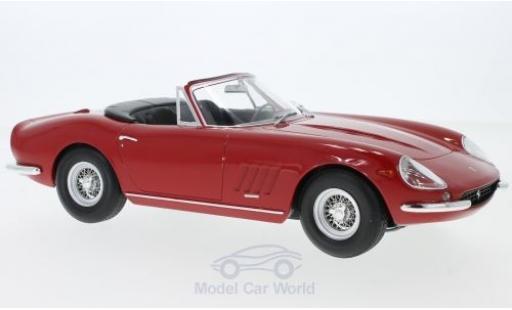 Ferrari 275 1/18 KK Scale GTB/4 NART Spyder rouge 1967 Softtop liegt ein miniature