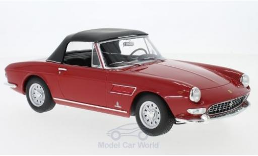 Ferrari 275 1/18 KK Scale GTS Pininfarina Spyder rouge 1964 Softtop liegt ein miniature