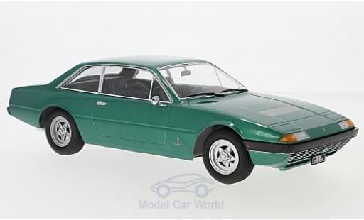 Ferrari 365 1/18 KK Scale GT4 2+2 metallise verte 1972 miniature