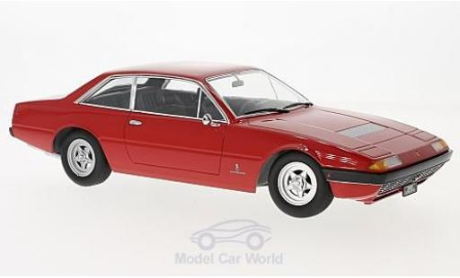 Ferrari 365 1/18 KK Scale GT4 2+2 rouge 1972 miniature