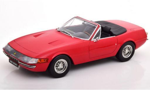 Ferrari 365 1/18 KK Scale GTS/4 Daytona Spider red 1969 diecast model cars