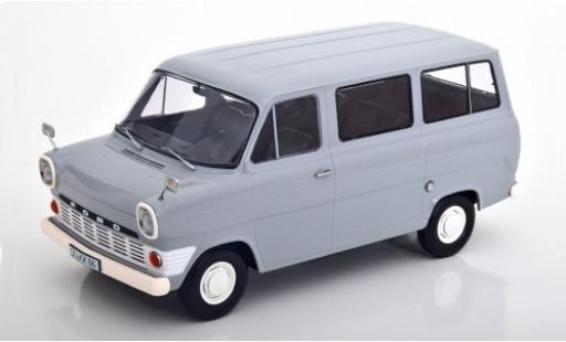 Ford Transit 1/18 KK Scale Mk1 Bus grise 1965 miniature