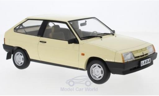 Lada Samara 1/18 KK Scale beige 1984 miniature
