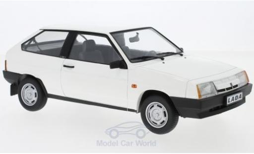 Lada Samara 1/18 KK Scale blanche 1984 miniature