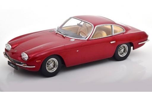 Lamborghini 400 GT 1/18 KK Scale 2+2 metallise rouge 1965 miniature