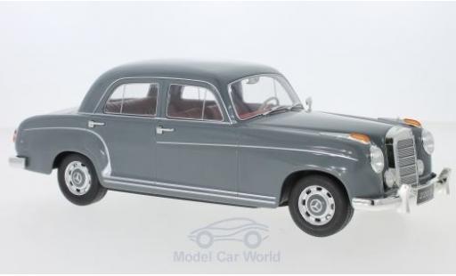 Mercedes 220 1/18 KK Scale S Limousine (W180 II) grise 1956 miniature