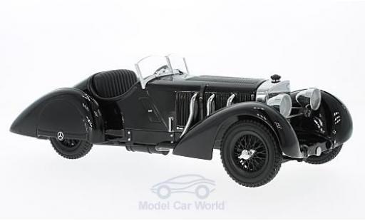 Mercedes SSK 1/18 KK Scale Count Trossi noire Der noiree Prinz 1930 miniature