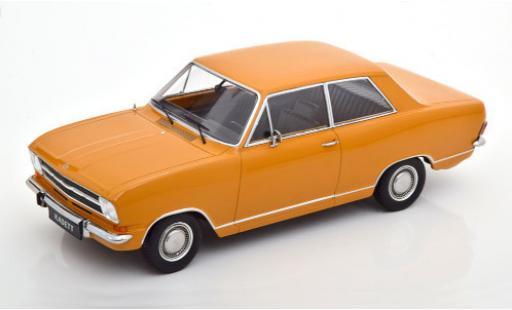 Opel Kadett 1/18 KK Scale B 1.2 orange 1972 2-portes miniature
