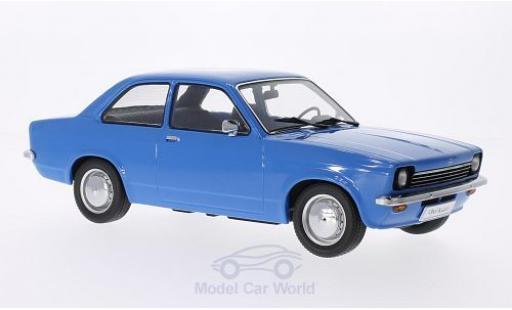 Opel Kadett E 1/18 KK Scale C Limousine bleue Türen und Hauben sind nicht zu öffnen miniature