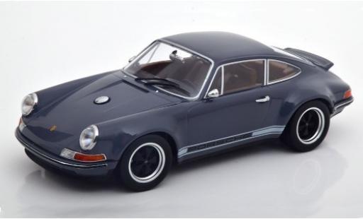 Porsche 911 1/18 KK Scale Singer grise/Dekor miniature