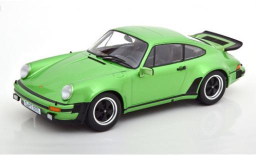Porsche 930 Turbo 1/18 KK Scale 911 3.0  metallise verte 1976 miniature