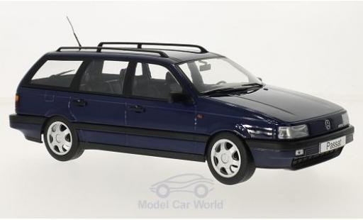 Volkswagen Passat 1/18 KK Scale (B3) Variant bleue 1988 miniature