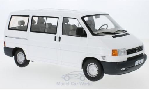 Volkswagen T4 1/18 KK Scale Caravelle white 1992 diecast