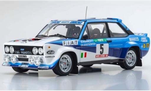 Fiat 131 1/18 Kyosho Abarth No.5 Italia Rallye WM Rally Portugal 1980 W.Röhrl/C.Geistdörfer diecast model cars