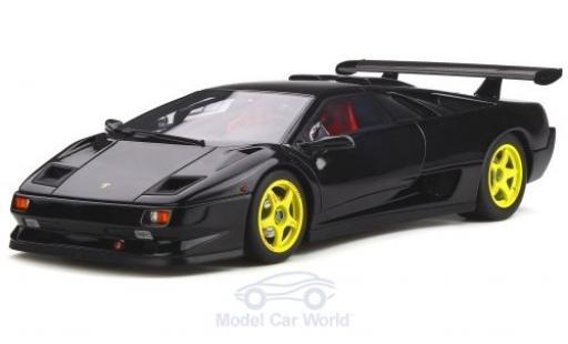 Lamborghini Diablo 1/18 Kyosho SVR noire miniature