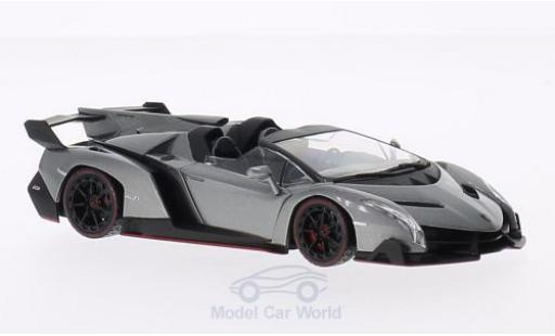 Lamborghini Veneno 1/43 Kyosho Roadster metallise grey/green diecast model cars