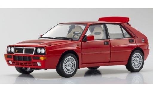 Lancia Delta 1/18 Kyosho HF Integrale Evoluzione II rouge 1993 miniature