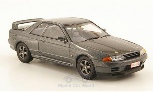 Nissan Skyline 1/43 Kyosho GT-R (BNR 32) metallic-grey RHD Nürburgring Test Car