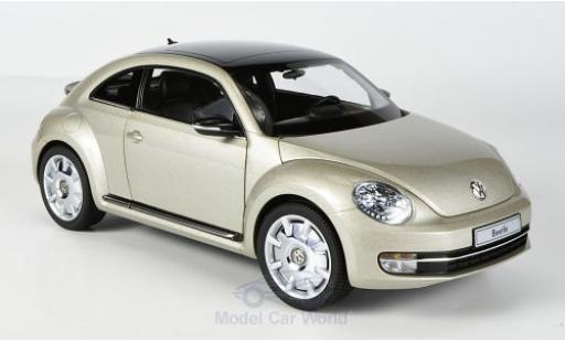 Volkswagen Beetle 1/18 Kyosho Coupe metallise beige 2011 miniature