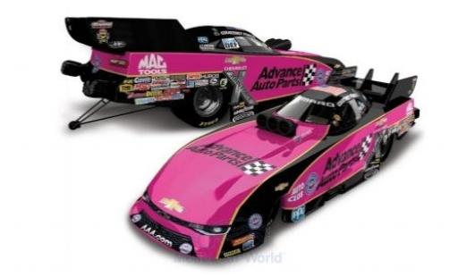 Chevrolet Camaro 1/64 Lionel Racing Funny Car John Force Racing Advance Auto Parts NHRA 2017 C.Force diecast model cars
