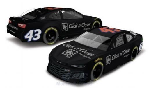 Chevrolet Camaro 1/64 Lionel Racing No.43 Richard Petty Motorsports Click n Close Nascar 2018 Testfahrzeug D.Wallace Jr. miniature