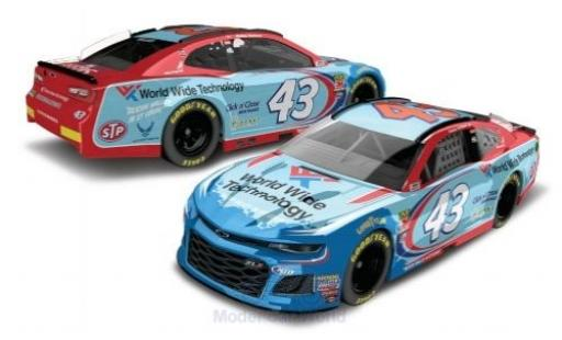 Chevrolet Camaro 1/64 Lionel Racing No.43 Richard Petty Motorsports World Wide Technology Nascar 2018 D.Wallace Jr. miniature