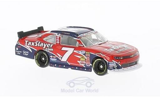 Chevrolet Camaro RS 1/64 Lionel Racing No.7 JR Motorsports TaxSlayer Nascar 2013 R.Smith miniature