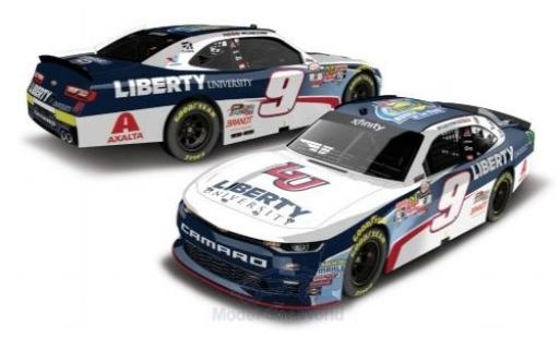 Chevrolet Camaro 1/64 Lionel Racing No.9 Stewart-Haas Racing Liberty University Nascar 2017 Rookie of the Year W.Byron miniature