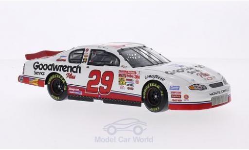 Chevrolet Monte Carlo 1/24 Lionel Racing No.29 Richard Childress Racing GM Goodwrench Service Plus Nascar 2001 K.Harvick modellautos